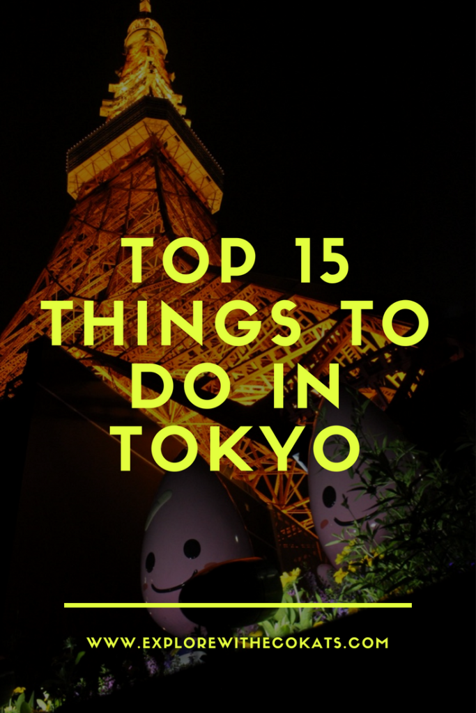 Things to do in #Tokyo #Japan