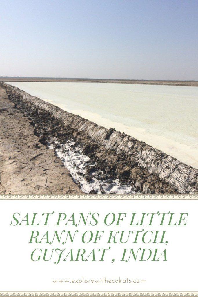 Salt pans of Little rann of kutch