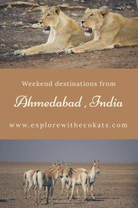 Weekend destinations from Ahmedabad