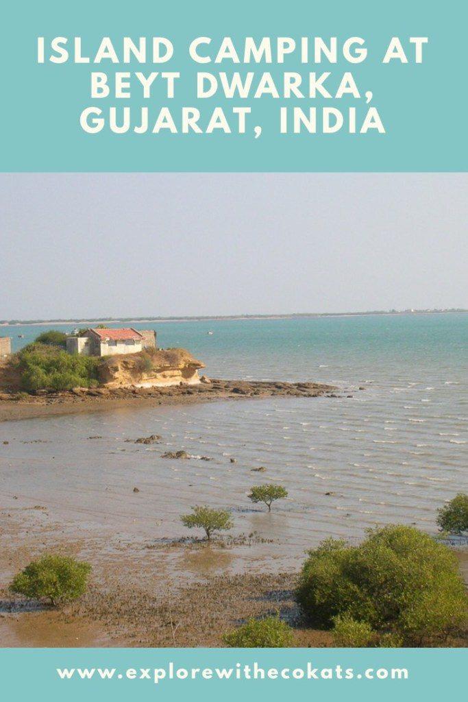 Island camping at #BeytDwarka #Gujarat