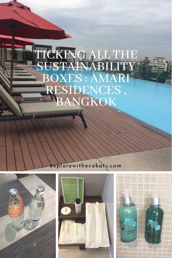 #Amari Residences #Bangkok #Sustainablehotel