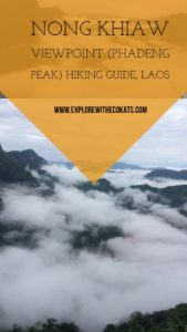 Nong Khiaw Viewpoint #Laos