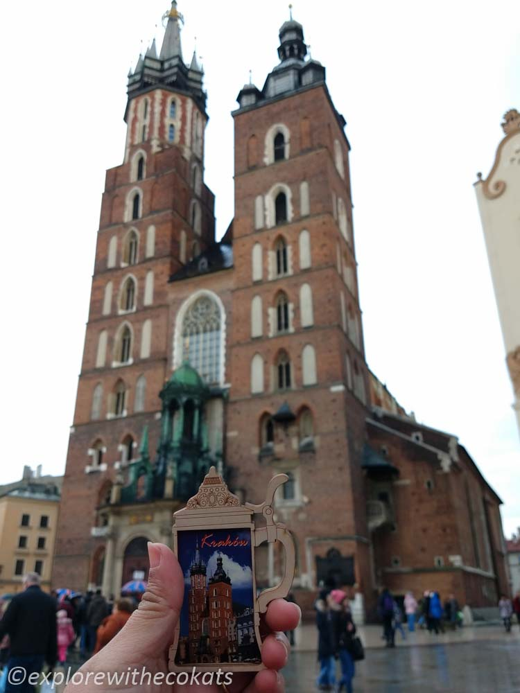 St Mary's Basilica in Krakow old town