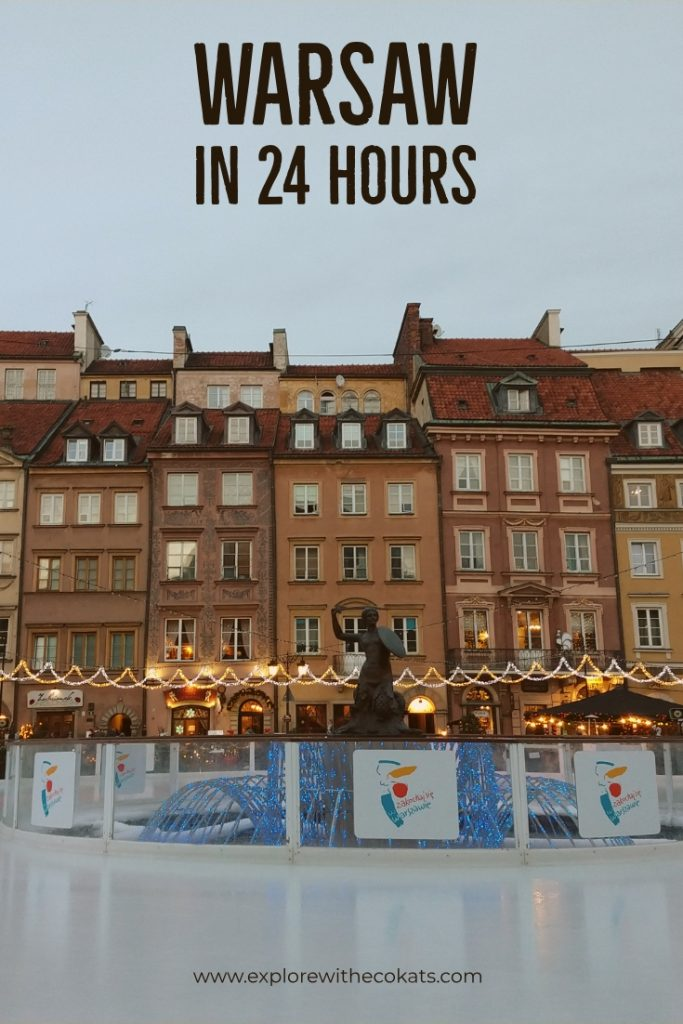 Warsaw in 24 hours