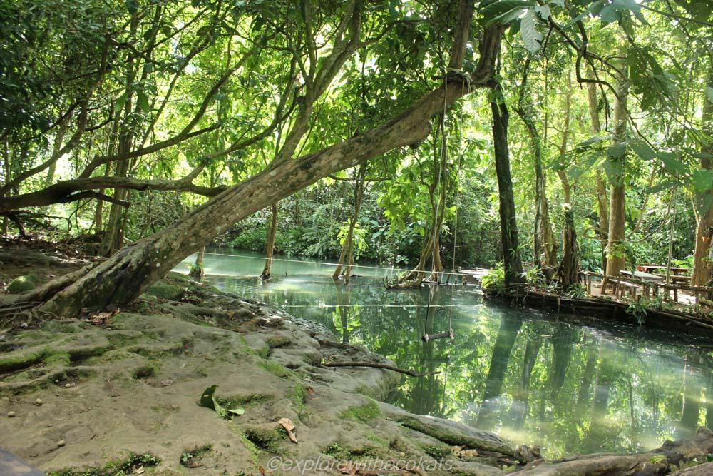 Kuang Si waterfalls top