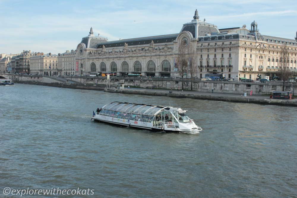 Cruise over Siene river is a Paris Highlights