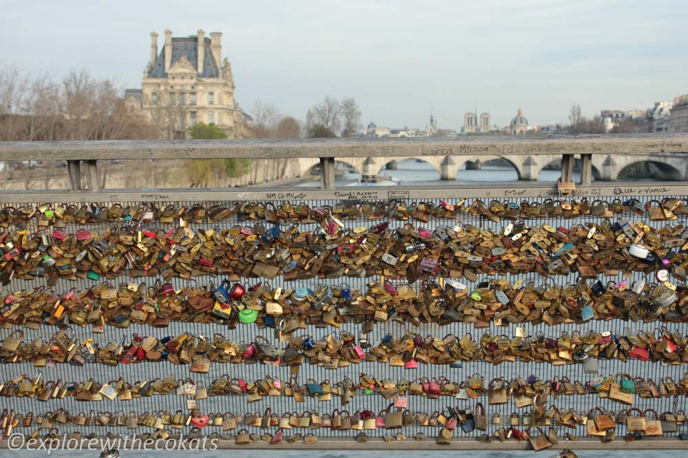 Pont Des Arts or Love lock bridge