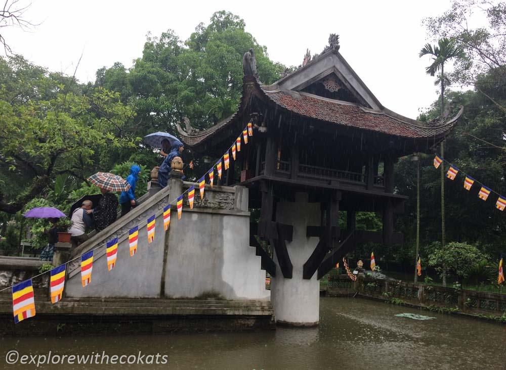 One pillar Pagoda; 2 days in Hanoi