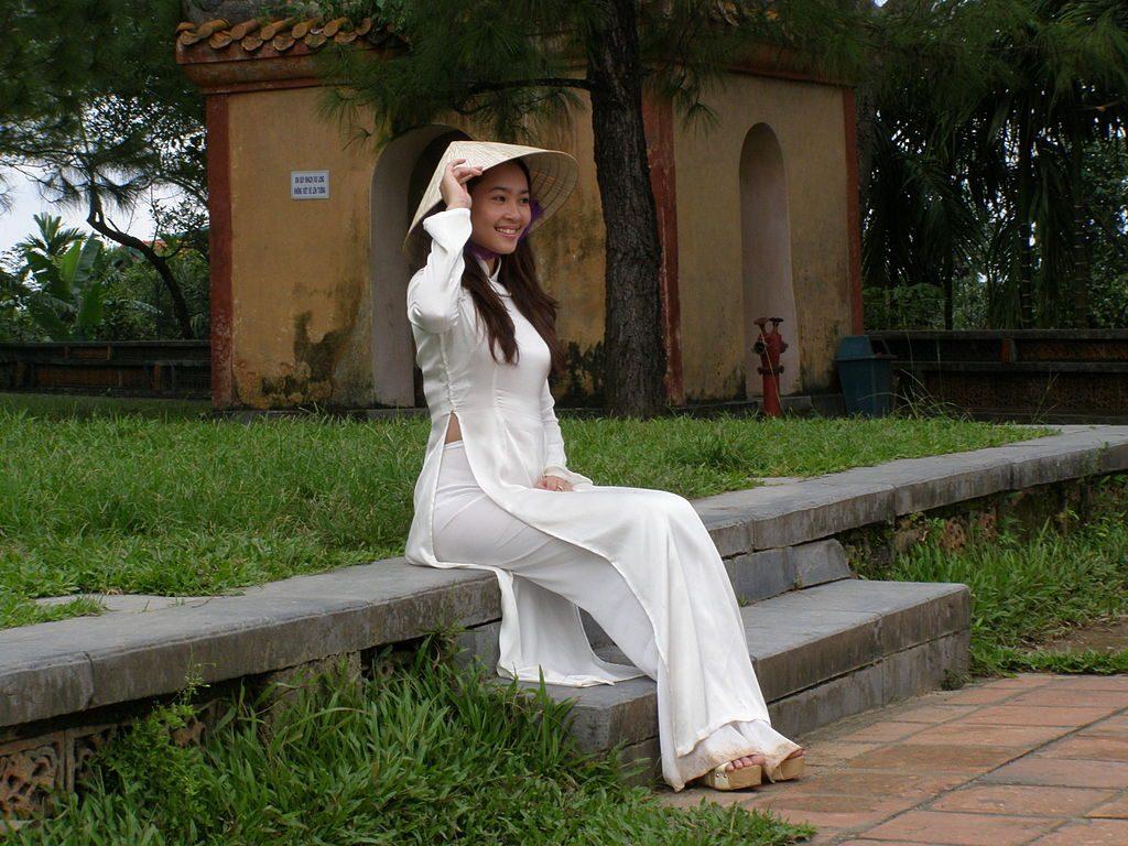 Ao Dai as a souvenir from vietnam