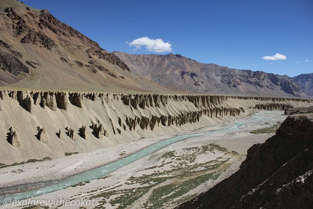Formations at Sarchu