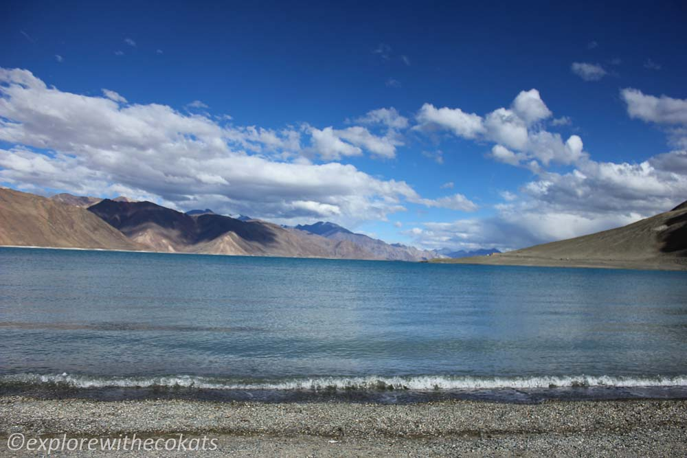 Pangong lake - Places to visit in and around Leh